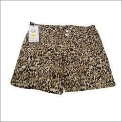 Printed Ladies Shorts