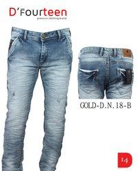 MULTI COLOR DENIM JEANS
