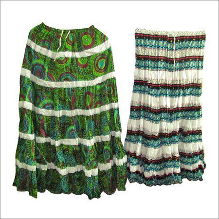 Designer Cotton Skirts