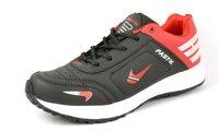 Black & Red Sports Sandal