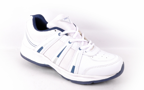 SPORTS SHOES WHITE R.BLUE