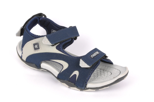 Mens Sandals Navy/L.Grey