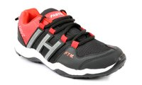 Trigger Black/Red Sports Shoes