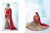 Designer Half and half saree