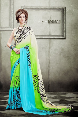 Designer Printed Saress