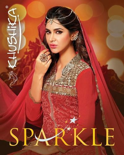 Khushika Suits Sparkle Wholesale Salwar Kameez