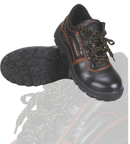 Robinson Full Black Safety Shoes