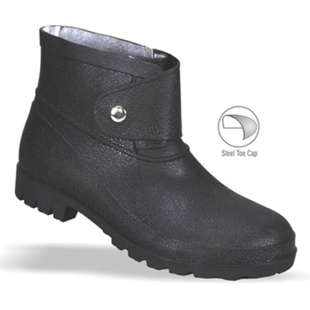 Single Button Ankle Boot