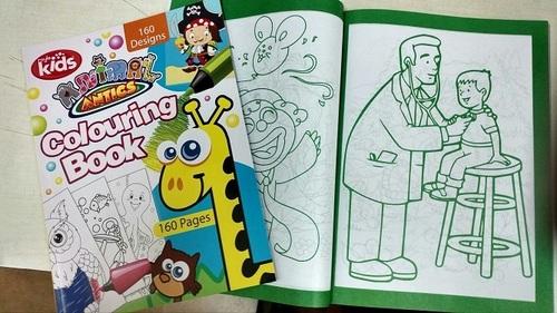 Border Colouring Book