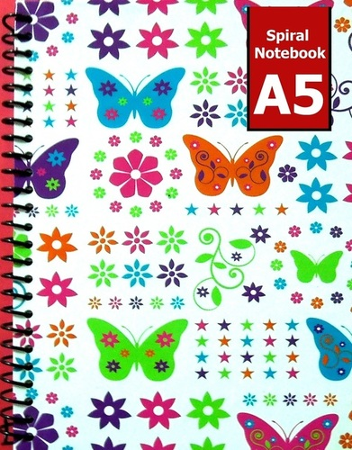 A5 Spiral Hardback Notebook