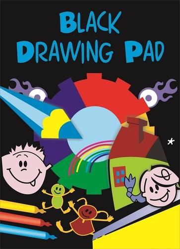 A4 Black Drawing Pad