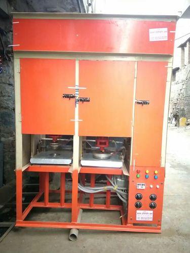Semi Automatic Double Die Paper Dona Making Machine