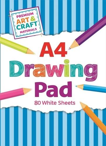 A4 Drawing Pad 80 Sheets