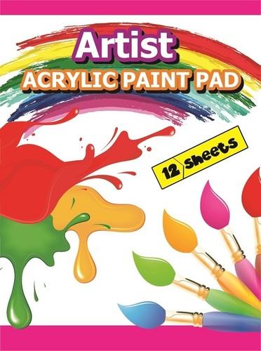 Acrylic Paint Pad 12 Sheets