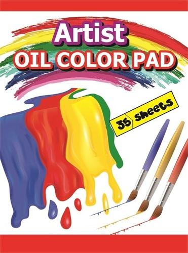 Oil Colour Pad 35 Sheets