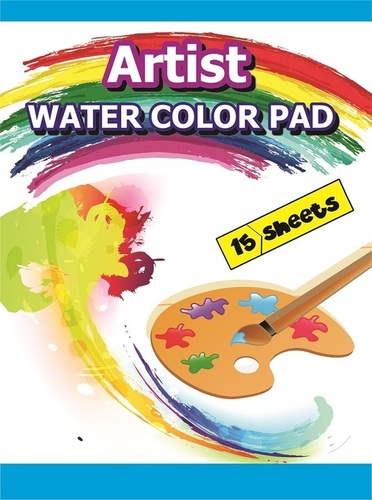 Water Colour Pad 15 Sheets