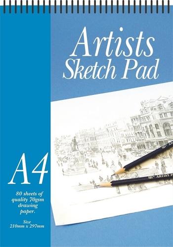 A4 Artist Sketch Pad 80 Sheets