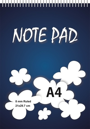 A4 Reporter Note Pad