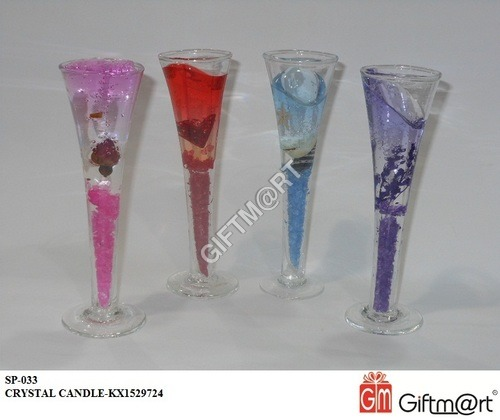 Designer Crystal Candle