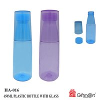 Plastic Bottle With Glass