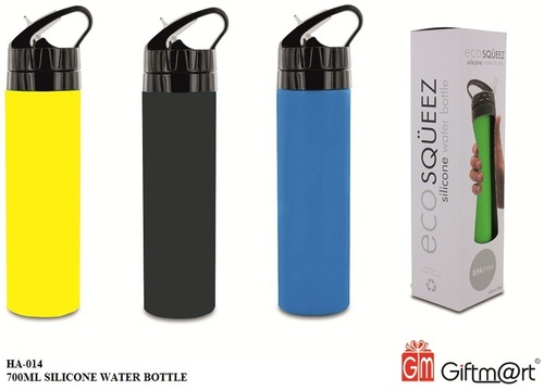 Silicone Water Bottle 700ml