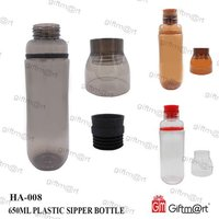 Plastic Sipper Bottle 750ml