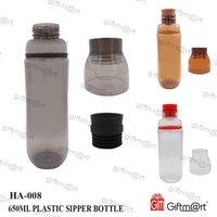 650ML PLASTIC SIPPER BOTTLE