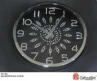 DIAMOND WALL CLOCK