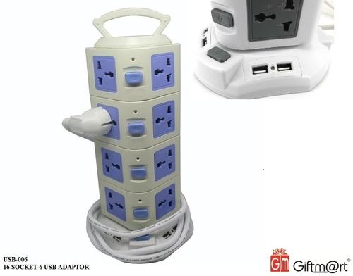 Socket-6 Usb Adaptor