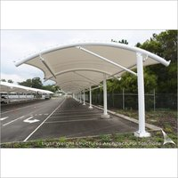 Commercial Tensile Car Parking