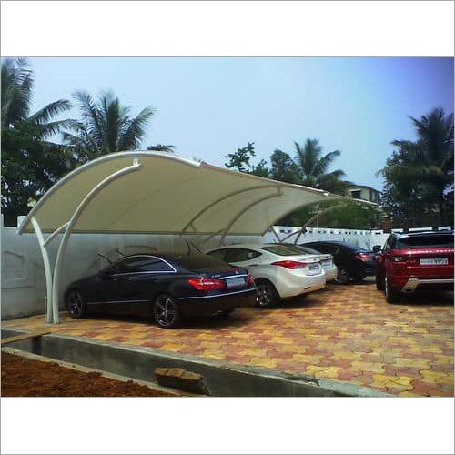 Tensile Car Parking Shades