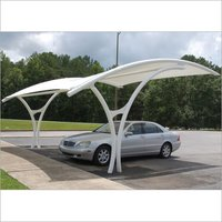 Tensile Car Parking Shades