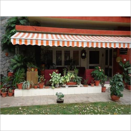 Retractable Awning for Shop