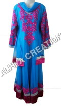 Designer look fancy long length maxi dress kaftan