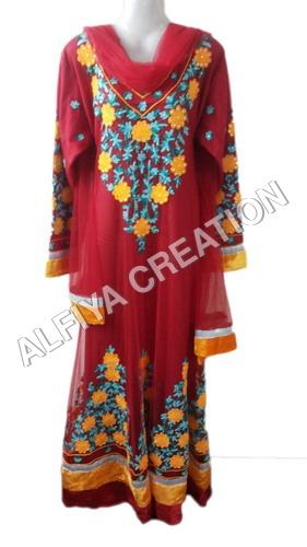 Elegant wedding wear maxi dress kaftan