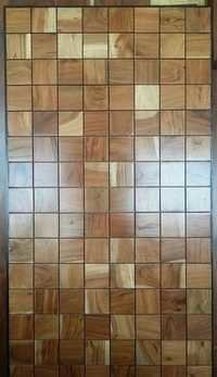 Solid Wood 3 D Decorative Wall Panel