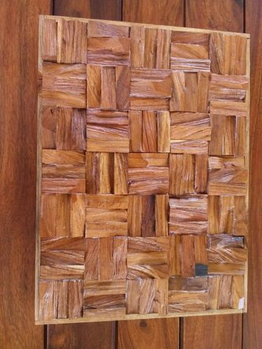 RAW WOOD 3 D WALL PANEL