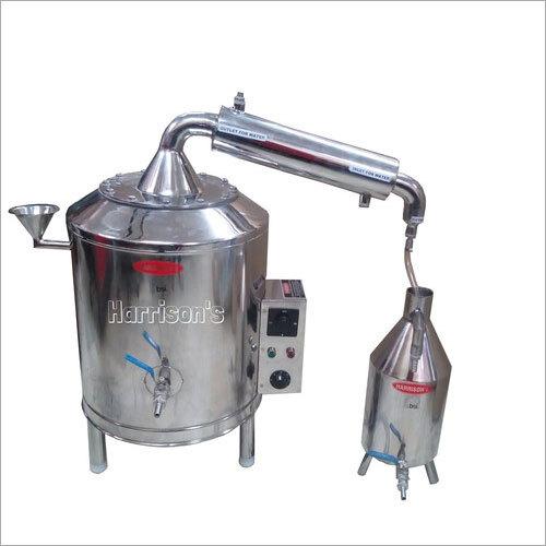Herbal Extraction- Distillation Plant
