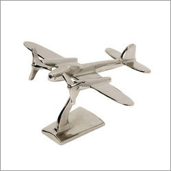 Nickel Finish Aeroplane
