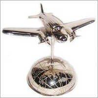 Base Nickel Finish Aluminium Aeroplane