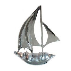 Aluminium Boat Model Nickel Finish