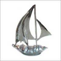 Aluminium Boat Model Nickel Finish
