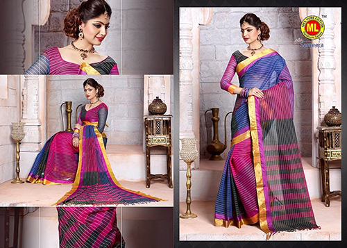 Simple Cotton Sarees
