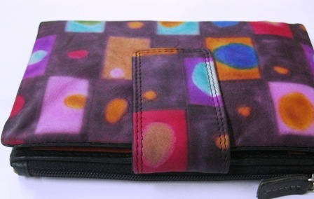 Hand Painted Trifold Wallets