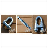 D Shackle, Turnbuckle-Eye To Eye & Wire Clip