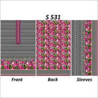 Unstitched Printed Kurtis Fabric