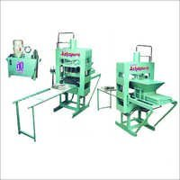 Hand Operate Bricks Making Machine