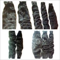 Machine Weft Wavy Hair