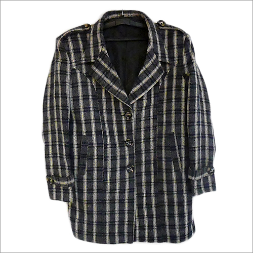 Ladies Plaid Coat