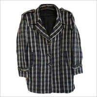 Ladies Plaid Coat